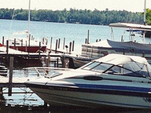 Boat Dock at Gruben's Marina