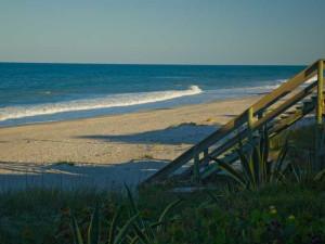 The beach at Tuckaway Shores Resort.