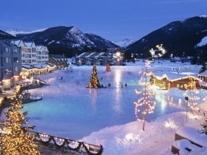 Winter time at SkyRun Vacation Rentals - Keystone.