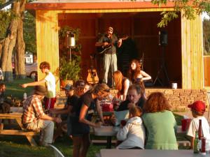 Live music at Edinboro Lake Resort.