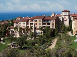 Exterior view of Marriott-Newport Coast Villas.