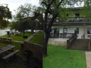 Lakefront Condo exterior at Heart of Texas Lake Resort.