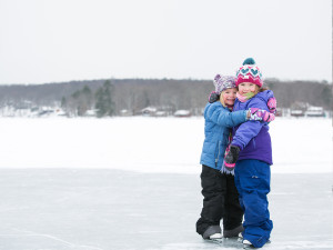 Winter at Woodloch Resort