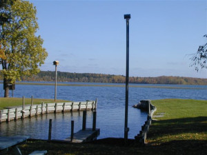 Lake view at Marclay Point Resort & Campground.