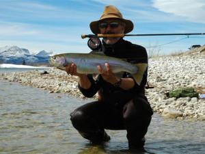 Fishing at Duck Lake Lodge.