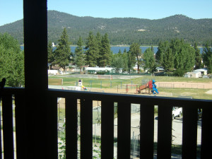 View at Honey Bear Lodge & Cabins.