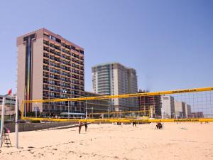 Exterior view of Four Sails Resort.
