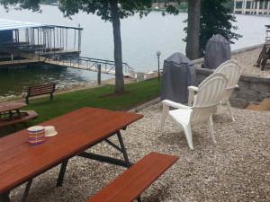 Grassy Lake Front at Lake Breeze Resort