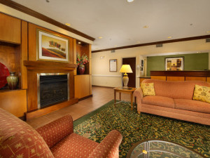 Lobby at Fairfield Inn Manassas