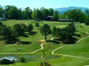 Butternut Creek Golf Course near Avenair Mountain Cabins.