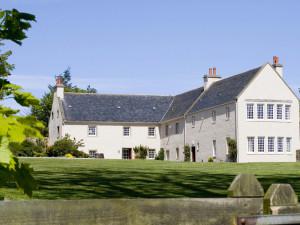 Exterior view of Glenmorangie House.