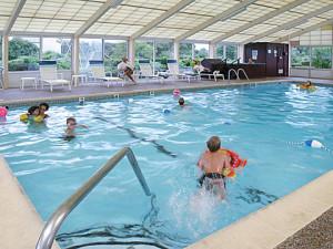 Enjoy the heated pool and hot tub at Tidewater Inn.