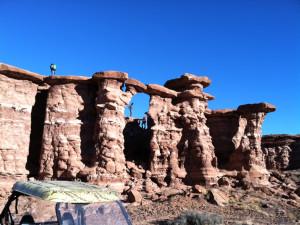 Canyon view at Canyonlands Lodging.