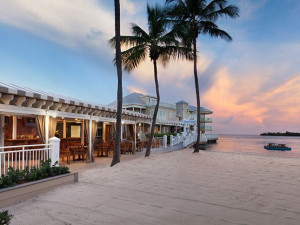 The beach at Pier House Resort & Spa.