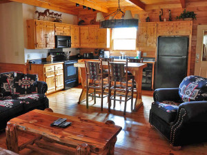 Vacation rental interior at Skye Realty and Rentals Inc.