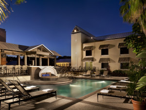 Outdoor pool at La Concha Hotel & Spa.