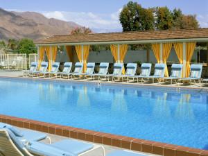 Outdoor pool at Smoke Tree Ranch.