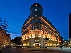 Exterior view of Mandarin Oriental, Munich.