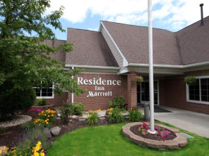 Exterior of the Residence Inn Scranton