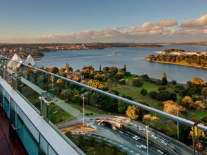 View from Inter-Continental Sydney.