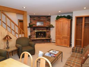 Rental living room at Frias Properties of Aspen - Alpenblick #11.