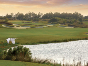 Golf course near North Beach Plantation.