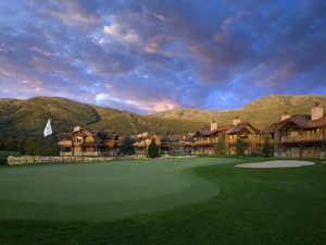 Golf course at Hotel Park City.