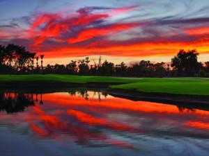 Sunset at The Wigwam Resort.