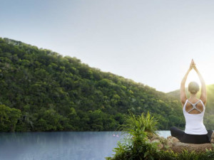 Morning Yoga at Lake Austin Spa Resort
