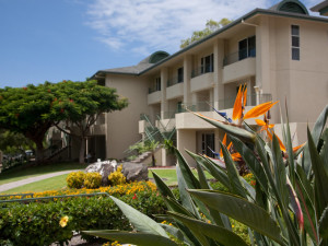 Exterior view of Paniolo Greens Resort.