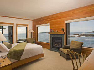 Premiere room at Wickaninnish Inn.