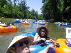 River tubing at Berry Creek, LLC.