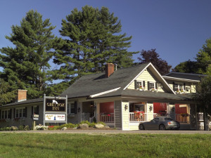 Exterior view of Grey Fox Inn.