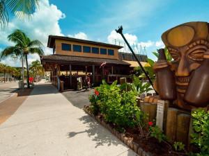 Tiki Bar at Lighthouse Resort Inn & Suites.