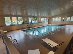 Indoor pool at The Sullivan.
