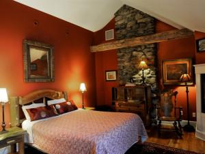 Winterberry room at Buttermilk Falls Inn & Spa.