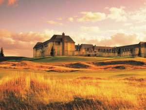 Exterior view of Fairmont St Andrews, Scotland.