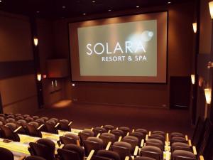 Conference room at Solara Resort & Spa.