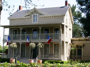 Exterior view of La Residence, A Napa Wine Country Inn.