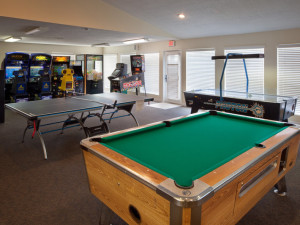 Game room at Holiday Inn Club Vacations at Desert Club Resort.