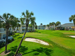 Golf course at Sandpiper Cove.