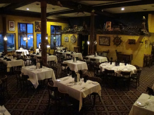 Dining at Historic Afton House Inn.