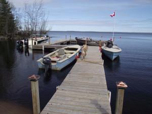 The Lake at Idle Tyme Fishing Camp