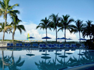 Rental pool at Tri Power Resort Rentals.