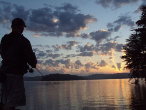 Fishing at Enchanted Mountain Retreats, Inc.