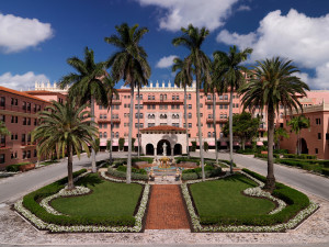 Exterior view of Boca Raton Resort and Club.