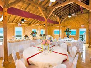 Wedding reception at Hilton Garden Inn Outer Banks.