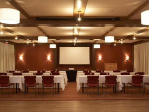Banquet hall at The Woodstock Inn & Resort.