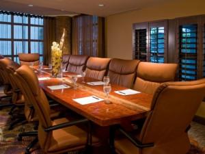 Meeting room at Bohemian Hotel Savannah Riverfront.