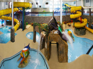 Water park at Castle Rock Resort & Waterpark.